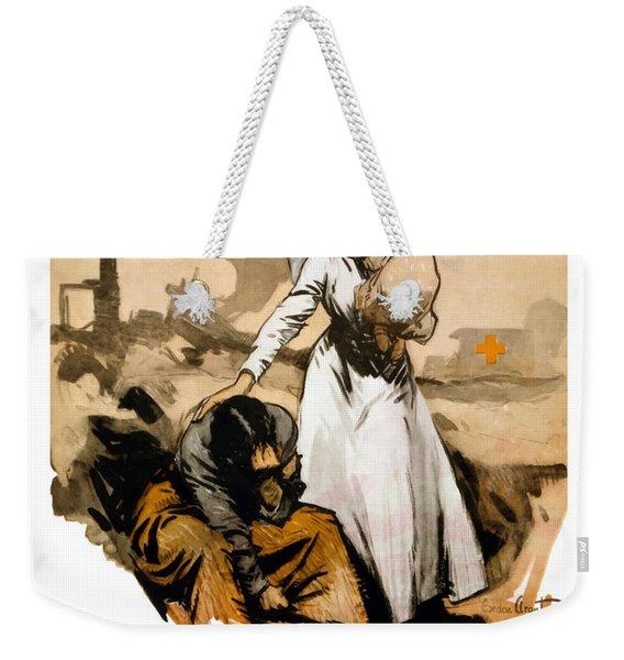 The Comforter - World War One Nurse Weekender Tote Bag