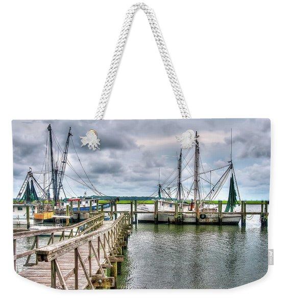 The Coming Storm Weekender Tote Bag