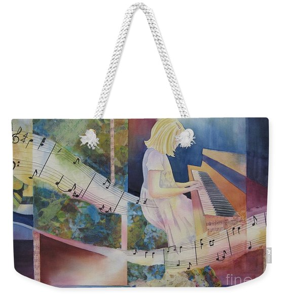 The Composition Weekender Tote Bag