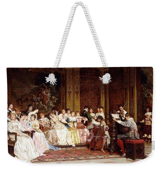 The Concert Weekender Tote Bag