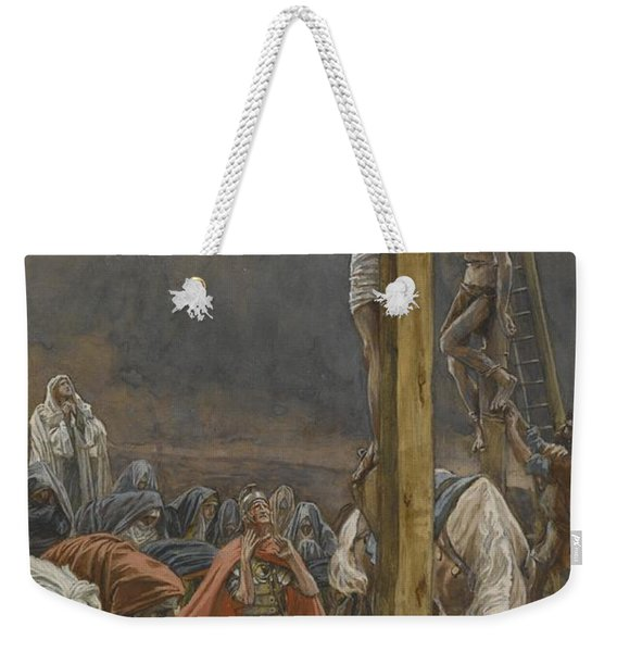 The Confession Of Saint Longinus Weekender Tote Bag