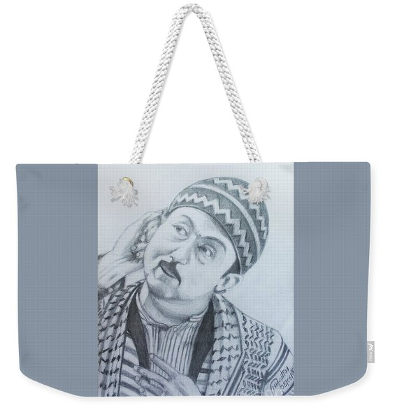 The Conscience Of Aleppo Weekender Tote Bag