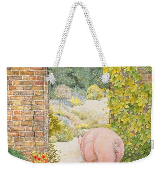 The Convent Garden Pig Weekender Tote Bag