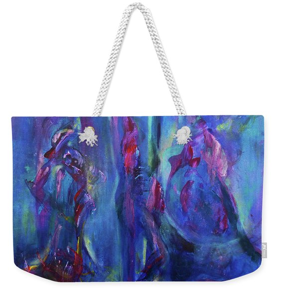 The Conversation Weekender Tote Bag