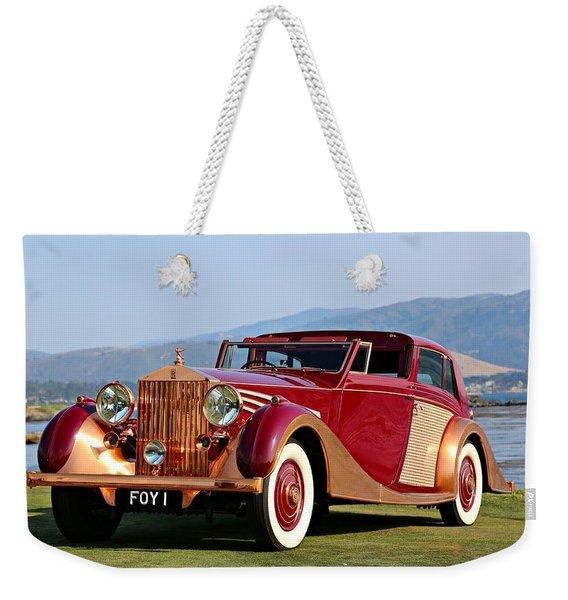 The Copper Kettle Rolls-royce Weekender Tote Bag