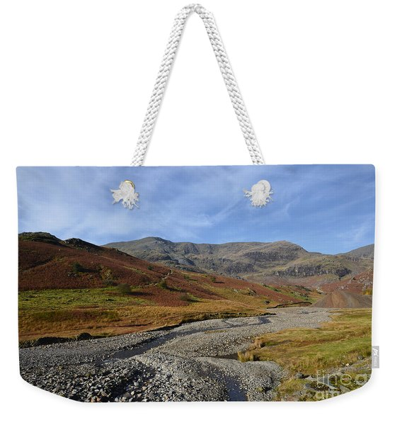 The Coppermine Valley Weekender Tote Bag