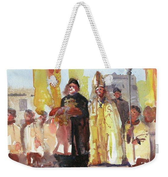 The Coronation Weekender Tote Bag