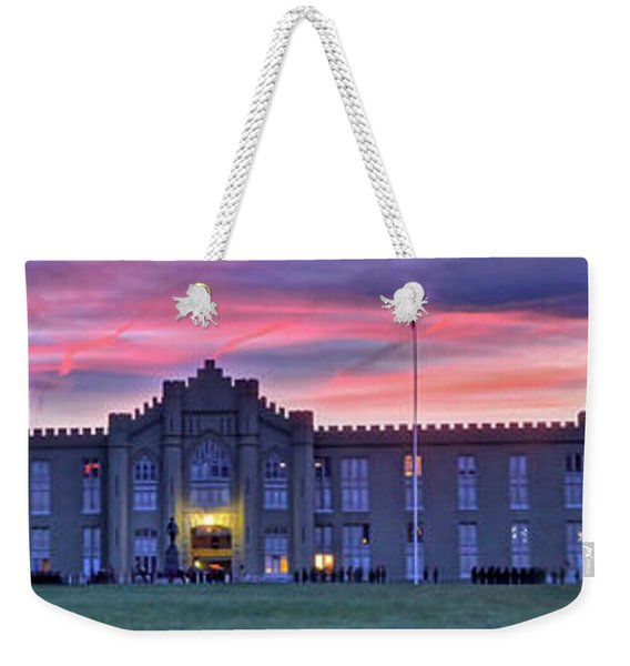 The Corps Forms For Breakfast Weekender Tote Bag
