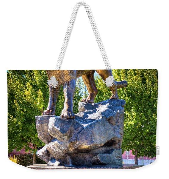 The Cougar Pride Sculpture Weekender Tote Bag
