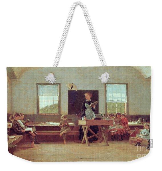 The Country School Weekender Tote Bag