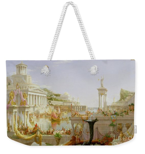 The Course Of Empire - The Consummation Of The Empire Weekender Tote Bag