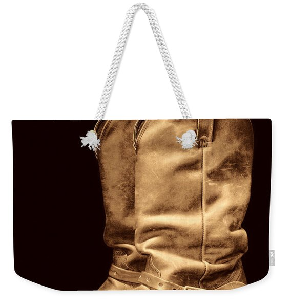 The Cowboy Boots Weekender Tote Bag