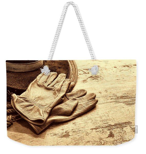 The Cowboy Gloves Weekender Tote Bag