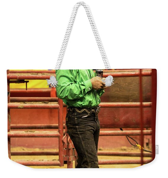 The American Cowboy Ready For The Rodeo Weekender Tote Bag