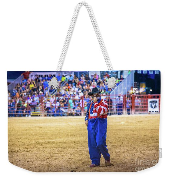 The Cowboy Savior Weekender Tote Bag