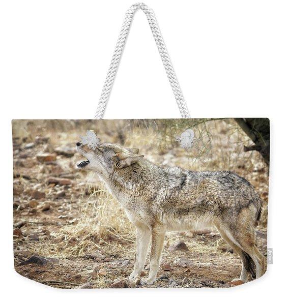 The Coyote Howl Weekender Tote Bag