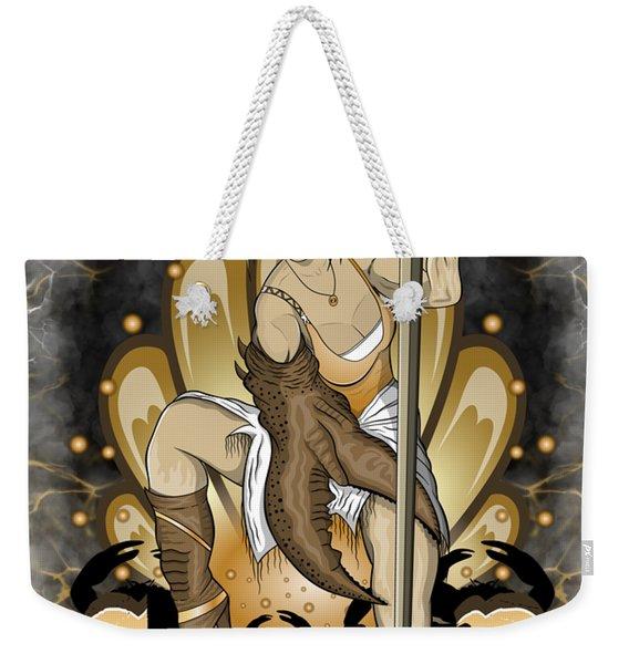 The Crab Cancer Spirit Weekender Tote Bag