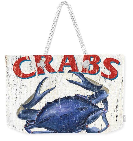 The Crab Shack Weekender Tote Bag
