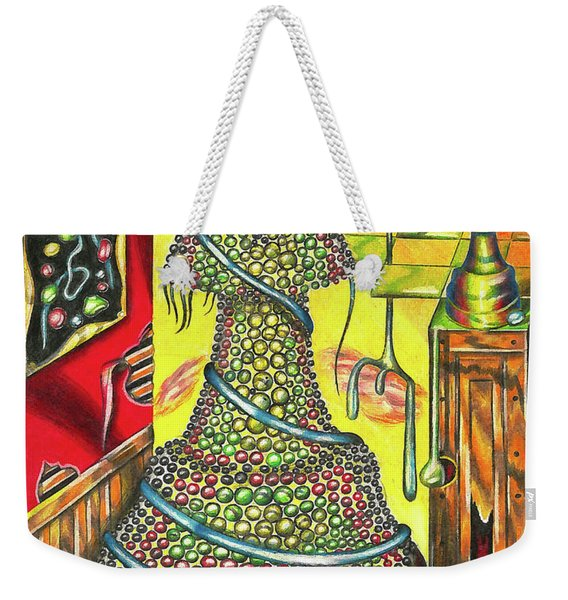 The Creation Of A Magnificent Strategy Weekender Tote Bag