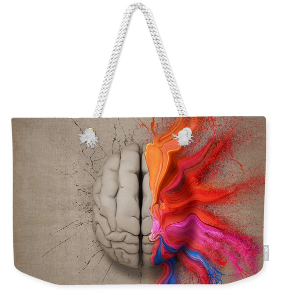 The Creative Brain Weekender Tote Bag