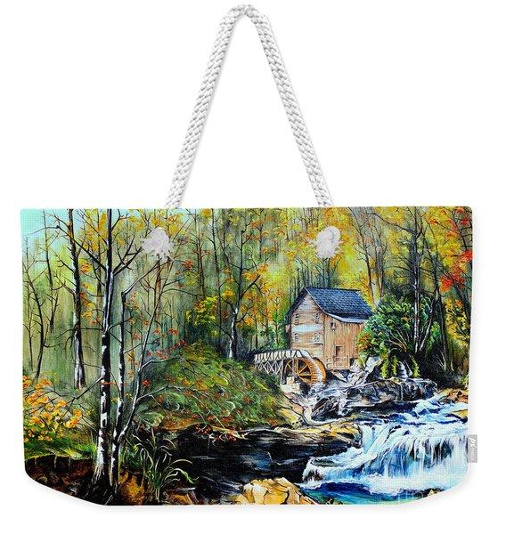 Glade Creek Weekender Tote Bag