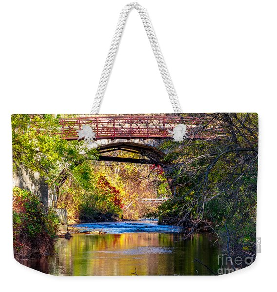 The Creek Weekender Tote Bag