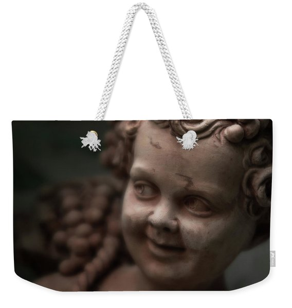 The Creepy Statue Weekender Tote Bag