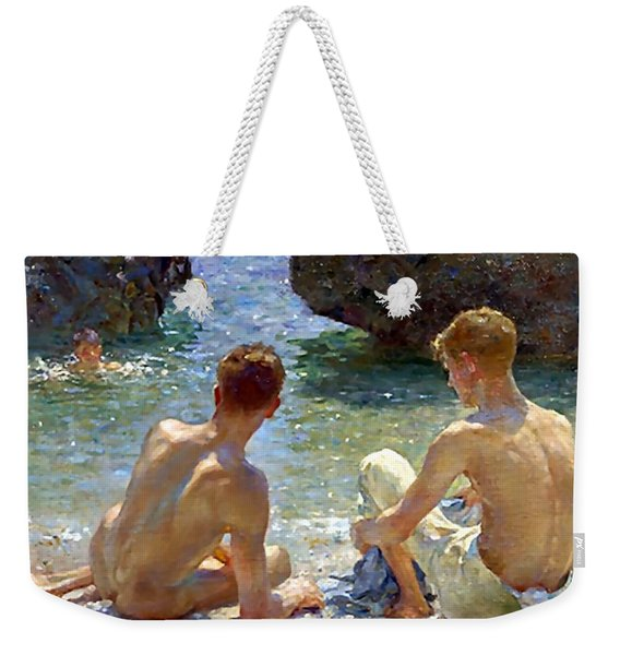 The Critics Weekender Tote Bag