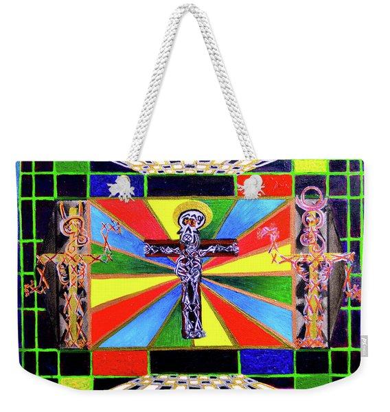 The Crucifffictiooon - Paradisi Gloooria Weekender Tote Bag