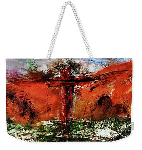 The Crucifixion #1 Weekender Tote Bag