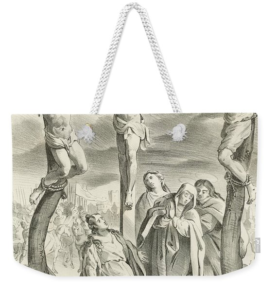The Crucifixion Weekender Tote Bag
