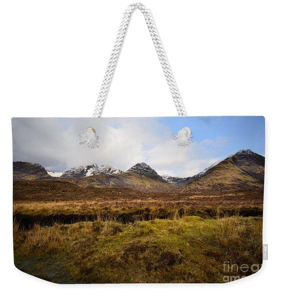 The Cuillins Weekender Tote Bag