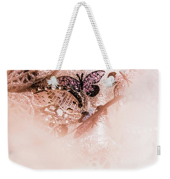 The Curtain Close Weekender Tote Bag
