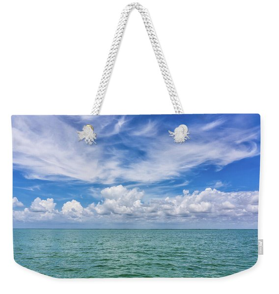 The Dance Of Clouds On The Sea Weekender Tote Bag