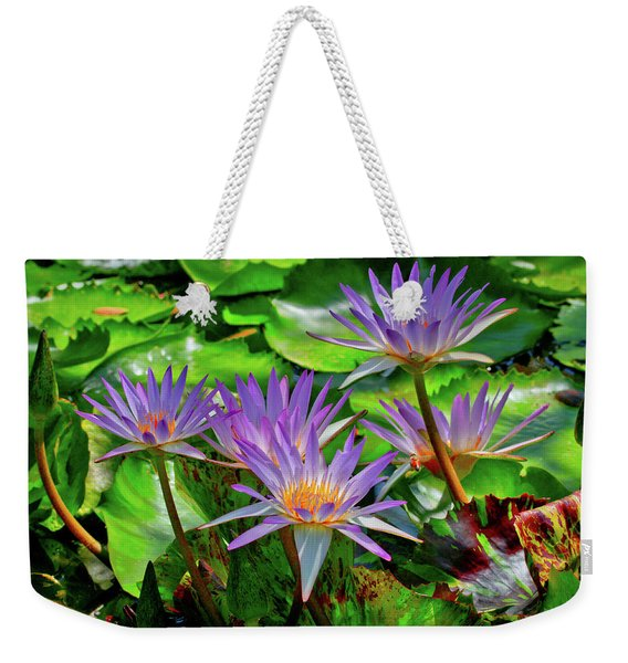 The Dance Of The Lillies Weekender Tote Bag