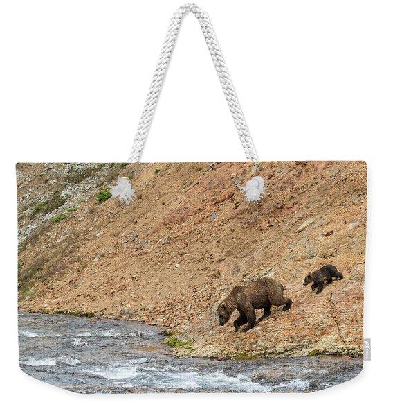 The Danger Has Passed Weekender Tote Bag