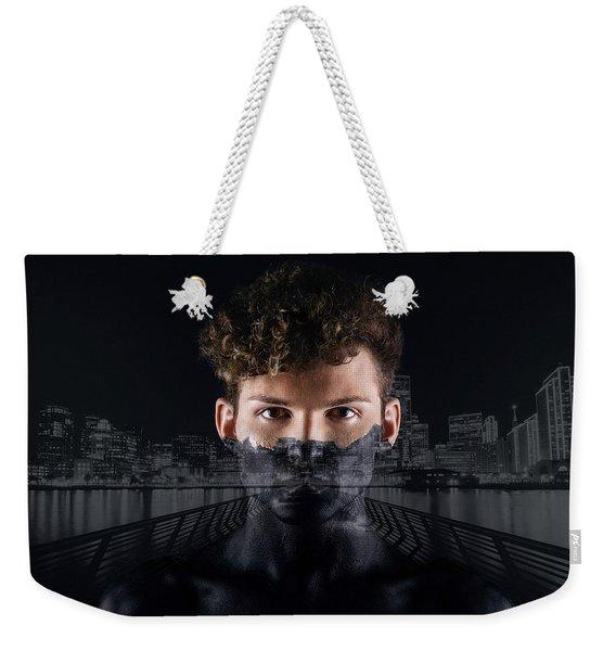 The Dark Side Of A City Boy Weekender Tote Bag