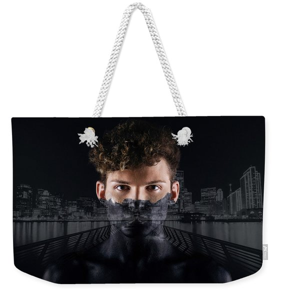 The Dark Side Of A City Boy Weekender Tote Bag