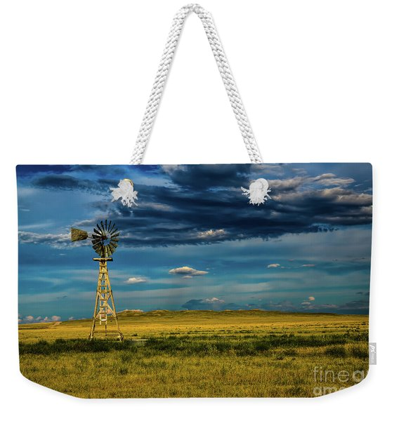 The Dark Wind Weekender Tote Bag