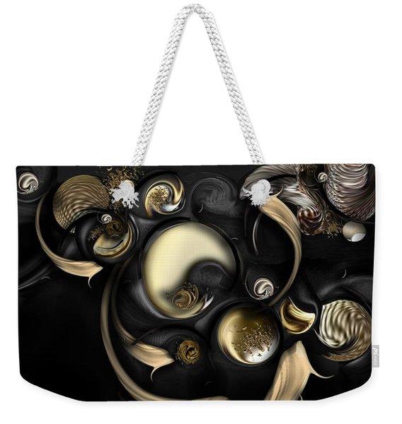 The Darkened Meditation Weekender Tote Bag