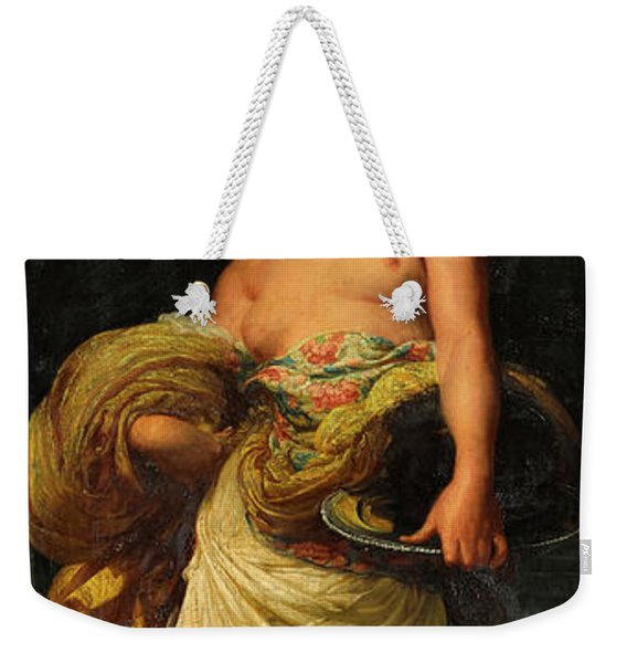 The Daughter Of Herodias, Salome Weekender Tote Bag