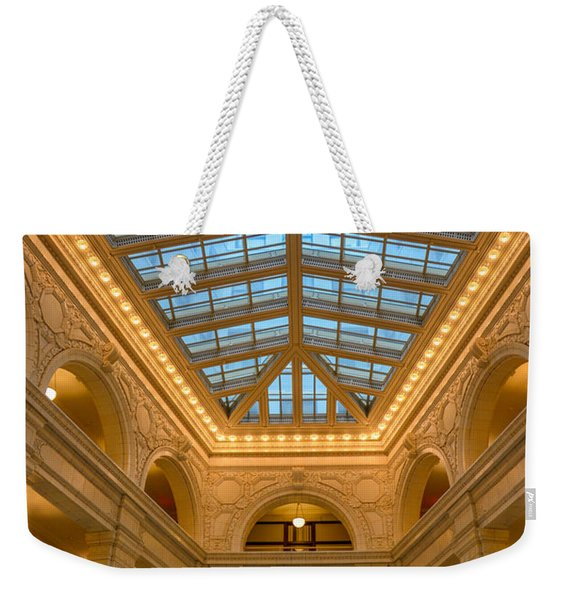The David Whitney Building Weekender Tote Bag