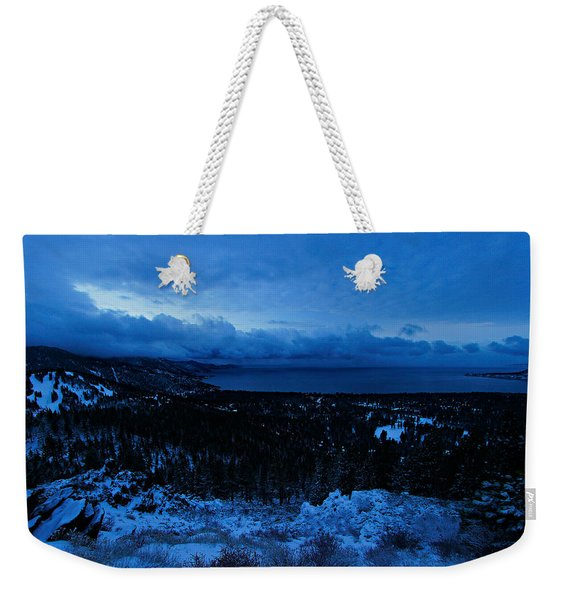 Weekender Tote Bag featuring the photograph The Dawn Of Winter by Sean Sarsfield