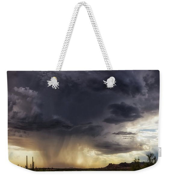 The Day It Rained Weekender Tote Bag