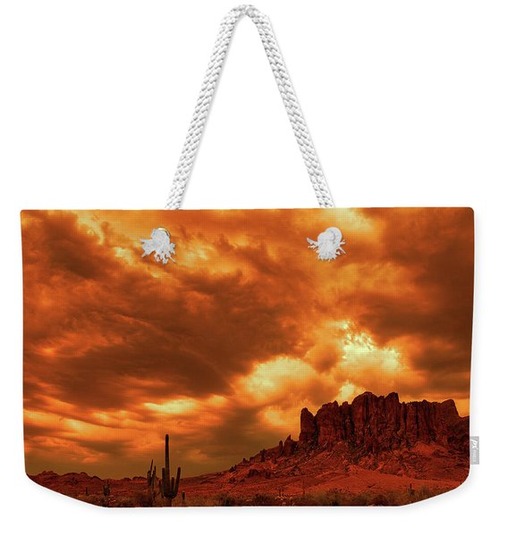 The Day The Sky Burned Weekender Tote Bag