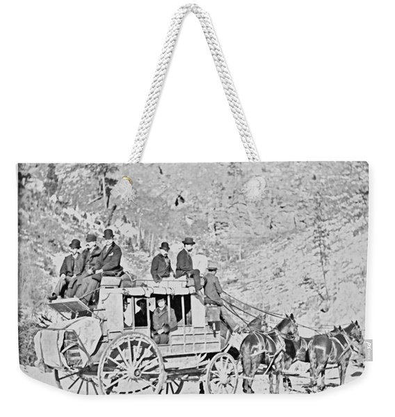 The Deadwood Coach Weekender Tote Bag