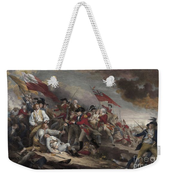 The Death Of General Warren At The Battle Of Bunker Hill, 17th June 1775 Weekender Tote Bag
