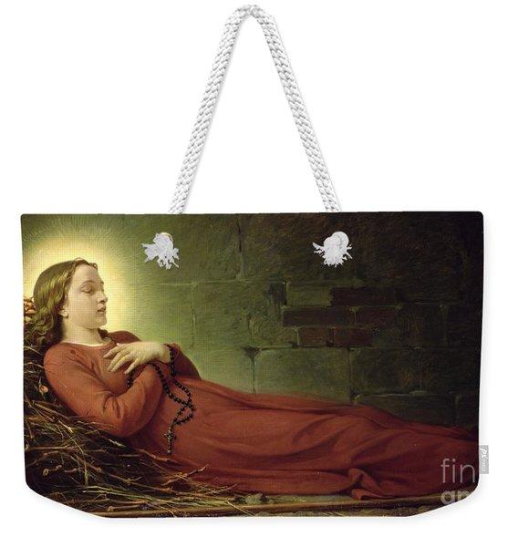 The Death Of Germaine Cousin The Virgin Of Pibrac Weekender Tote Bag