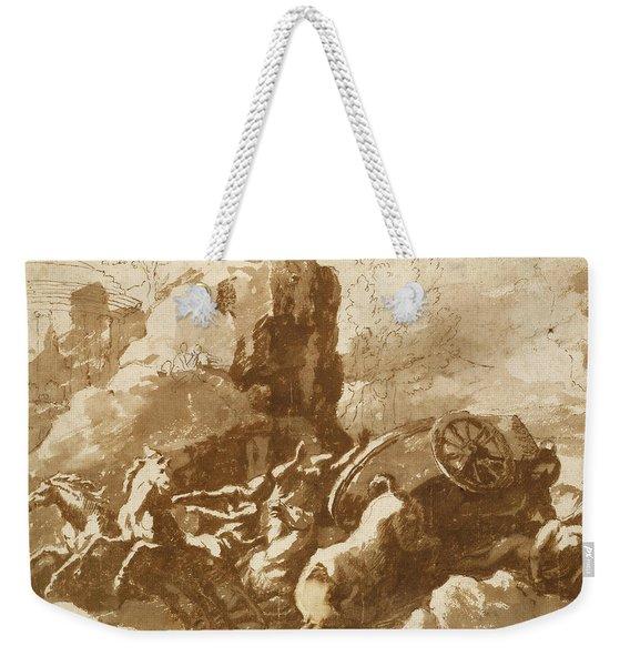 The Death Of Hippolytus Weekender Tote Bag