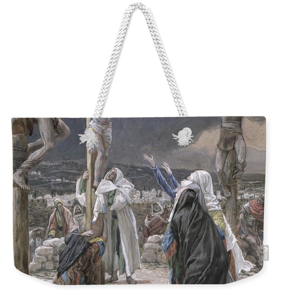 The Death Of Jesus Weekender Tote Bag
